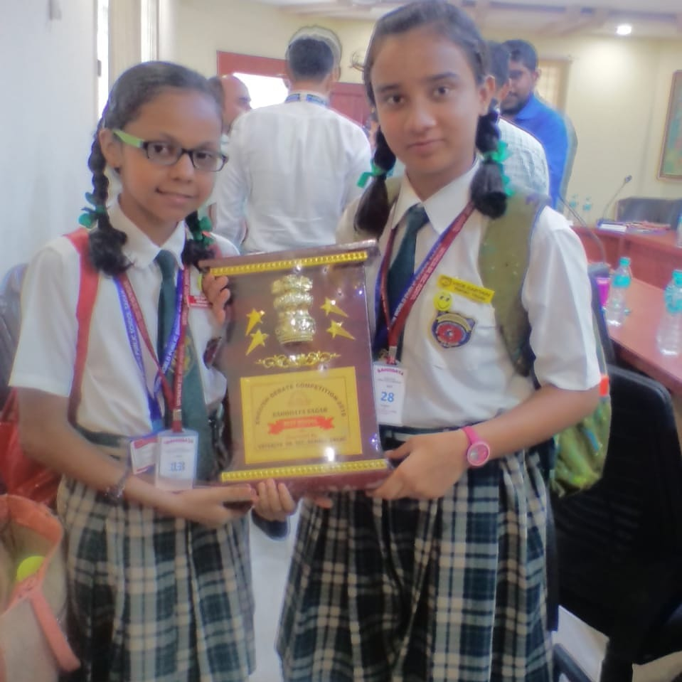 LAURELS  to DOON      WORLD  PUBLIC.          SCHOOL. INTER SCHOOL DEBATE competition held at  Vatsalya sen. sec .school  today.